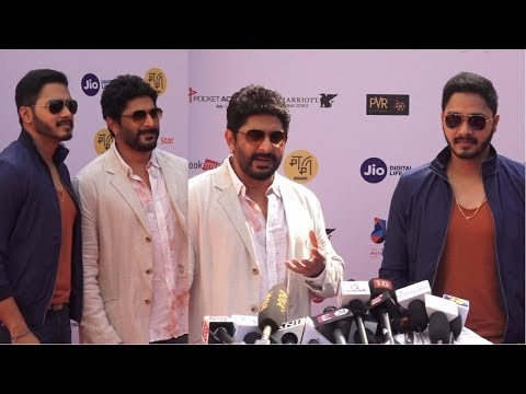 Arshad Warsi & Shreyas Talpade At Jio Mami Movie Mela