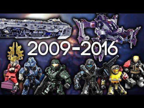 HALO MEGA CONSTRUX SETS 2009 - 2016!!! (EVERY SET EVER MADE)