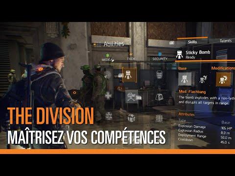 The Division : vidéo des compétences