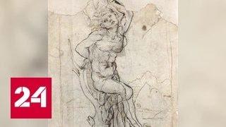 В Париже обнаружен редкий эскиз да Винчи стоимостью 16 млн долларов