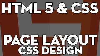 HTML5&CSS Web Design - 107 - HTML5 Page Layout