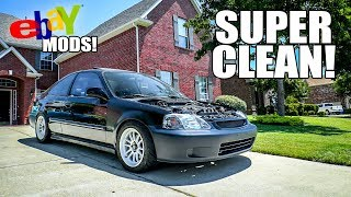 Making the Civic CLEAN! (*FOR CHEAP $$$!*) by Evan Shanks