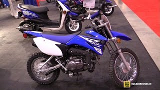 6. 2015 Yamaha TT-R 110E Mini Bike - Walkaround - 2015 Toronto Motorcycle Show