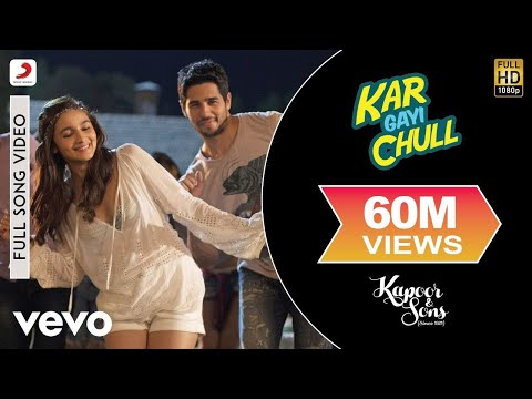 Video Kar Gayi Chull - Kapoor & Sons | Sidharth | Alia | Badshah | Amaal | Fazilpuria download in MP3, 3GP, MP4, WEBM, AVI, FLV January 2017