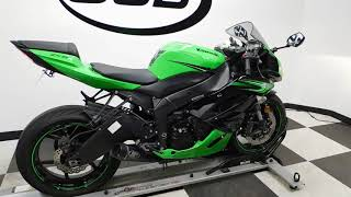 10. 2011 Kawasaki Ninja ZX-6R– used motorcycles  for sale– Eden Prairie, MN