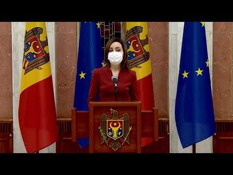 Президент Республики Молдова Майя Санду повторно выдвигает Наталью Гаврилица на должность Премьер-министра Республики Молдова