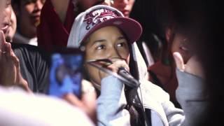 Clara Lima x Jhony na primeira fase do festival de rap de são gonçalo Filmagem e edição: Ian Miranda www.facebook.com/GritoFilmes Instagram: @GritoFilmes Sna...
