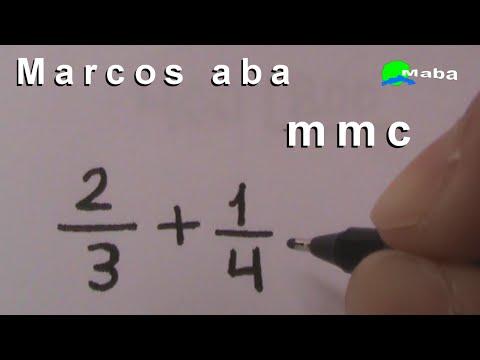 MMC - Mínimo Múltiplo Comum