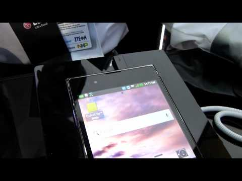 MWC 2012: LG Vu hands-on