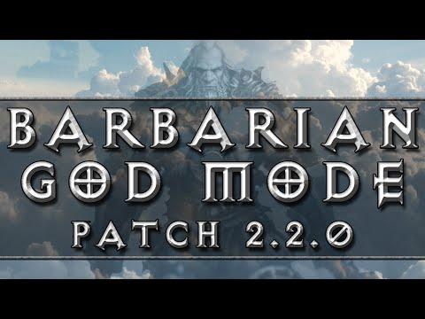 Diablo 3 - Barbarian GOD Mode (RoS Patch 2.2.0)
