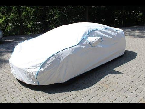 Sommer Car-Cover aus Tyvek ®. Atmungsaktiv, wasserfest, UV-stabil