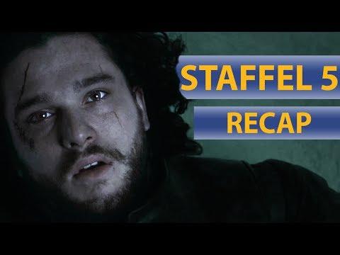 Game of Thrones Rückblick - Staffel 5