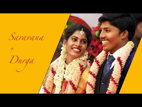 Tamil Reception Highlights - Indian Wedding Reception Video
