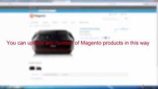 How to Massively Update Magento Products