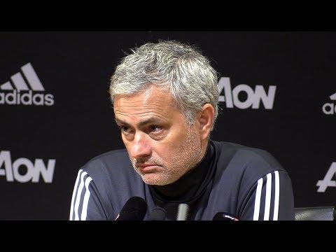 Manchester United 3-0 Stoke - Jose Mourinho Post Match Press Conference - Premier League #MUNSTK (видео)