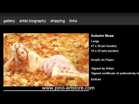 Pino Daeni Art Store видео