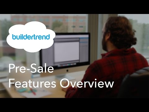 Construction Pre-Sale  Feature | Buildertrend