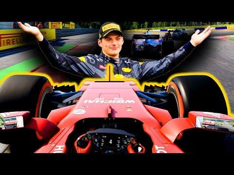VERSTAPPEN NE FA UNA DELLE SUE! - F1 2017 Carriera Ferrari