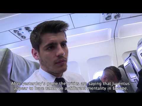 Morata: «Questa Juventus può andare lontano» - Morata: