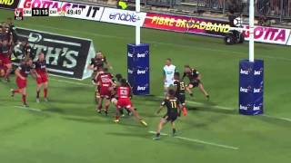 Crusaders v Chiefs Rd.1 Highlights 2016 | Super Rugby Video