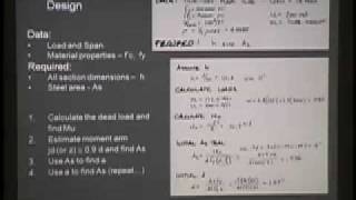 ARCH 324 - Reinforced Concrete by Ultimate Strength Design - Lecture 3