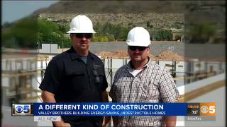 We were featured on AZ Family Channel 5 News!!! They beautifully covered the benefits and why you should be building with ICFWe cover all areas of building with ICF. We build ICF custom homes with our company Castle Rock Homes and we build bunkers with our company Division 1 Bunkers.Contact us today so we can start designing and building your custom ICF Project (623) 935-5004Special Thank You to Channel 5 News and Preston Phillips!Check out our websitehttps://www.icfspecialist.com/Call us anytime for more information or to get your free estimate623.935.5004Follow us on Facebook for updates on current projects https://www.facebook.com/ICF-Specialist-1545819495711334/