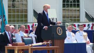 President Trump's commencement address at the U.S. Coast Guard Academy