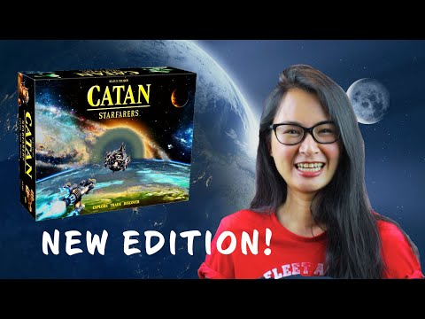 It's BACK! A new edition of Catan: Starfarers is out!  Check out my Quick Overview and Impressions