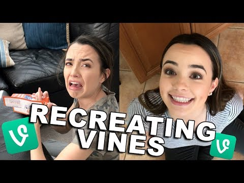 Video Recreating Iconic Vines - Merrell Twins download in MP3, 3GP, MP4, WEBM, AVI, FLV January 2017