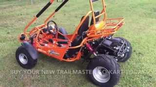1. TrailMaster 150 XRS - GoKartMasters.com