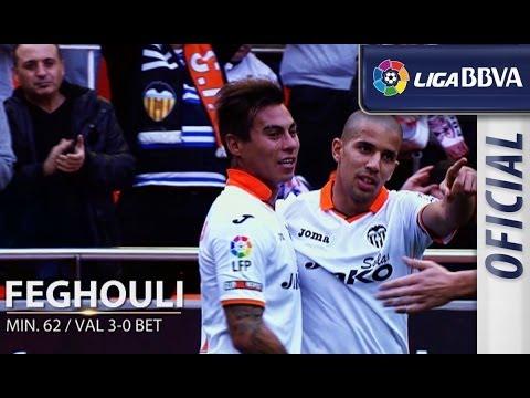 Edición Limitada: Valencia CF (5-0) Real Betis (видео)