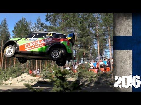 WRC rally Finland 2016. Shakedown highlights.