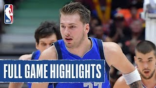 MAVERICKS at CLIPPERS | Porzingis AND Doncic Record Double-Doubles | 2019 NBA Preseason by NBA