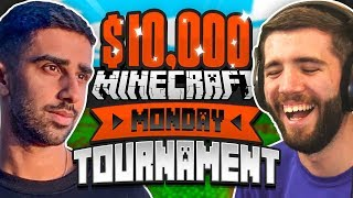 $10,000 MINECRAFT Monday Tournament - SIDEMEN DUO! (Week 10)
