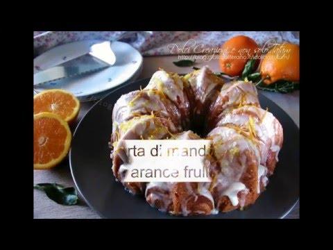 torta alle mandorle e arance frullate - ricetta