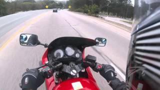 5. Kawasaki Ninja 500 ain't slow aka 500R Ex500