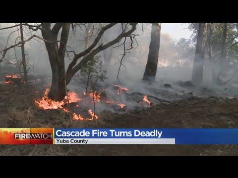 1 Dead In Cascade Fire Burning In Yuba County