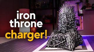 Making an Iron Throne Phone Charger || DIY