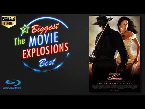 The Legend of Zorro (2005)  - Train Explosion