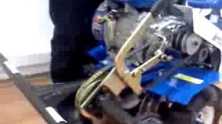 подготовка мотоблока и роторной косилки к работе