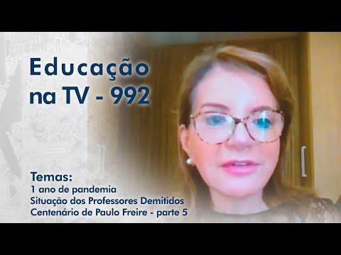 1 ano de pandemia | Situação dos professores demitidos | Centenário de Paulo Freire - parte 5