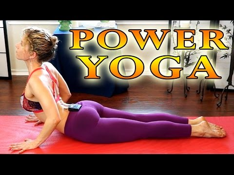 Power Yoga For Beginners – Total Body Workout for Weight Loss 30 Minute Yoga Class