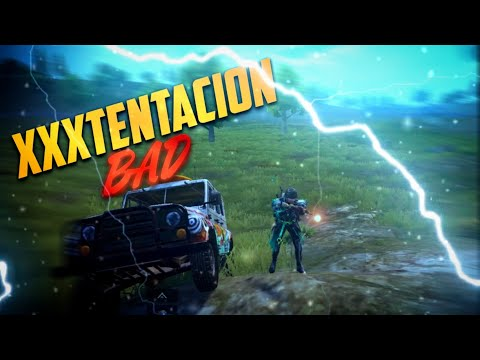 XXXTENTATION - BAD x PUBG Mobile Montage