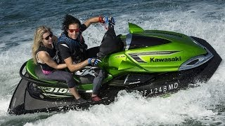 10. 2014 Kawasaki Jet Ski Ultra 310LX & 310R First Ride - MotoUSA