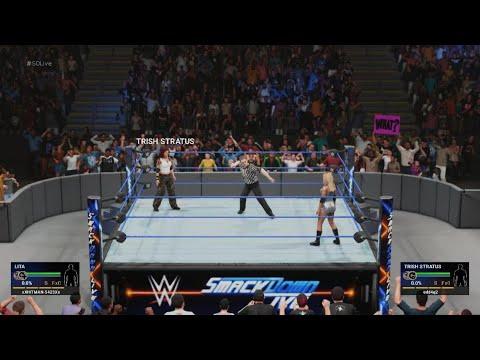 Lita vs Trish Stratus - if Lita wins she's included in the championship match