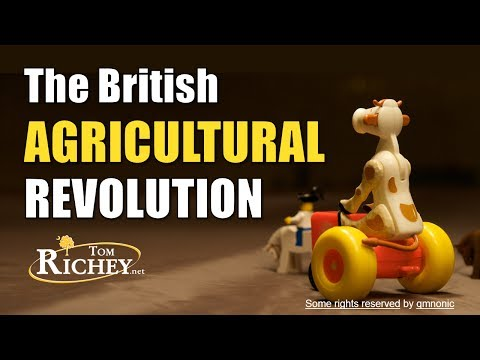 the british agrarian revolution Historical analysis of economy in the american revolution the american revolution through  could thwart the mounting agrarian  british government, which.