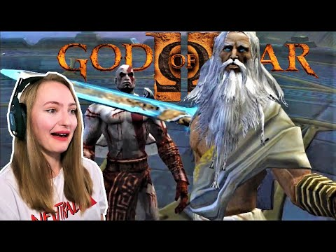 GETTING SHUNNED BY THE GODS #1 | God Of War 2 Blind Playthrough PART 1 | Anida Gaming
