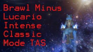 [TAS] Brawl Minus Lucario Intense Classic Mode