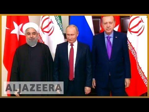 🇸🇾 Turkey, Russia, Iran leaders meet in Tehran over Idlib   Al Jazeera English
