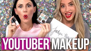 Video Trying YouTuber Makeup Products – PatrickStarrr, Zoella, Jaclyn Hill & More! (Beauty Break) MP3, 3GP, MP4, WEBM, AVI, FLV Maret 2018